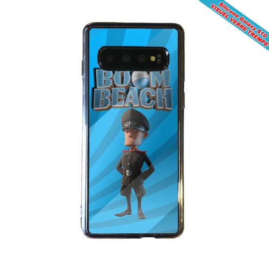 Coque silicone Iphone 12 Fan de Ligue 1 Montpellier cosmic