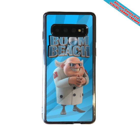 Coque silicone Iphone 12 Fan de Ligue 1 Nice cosmic