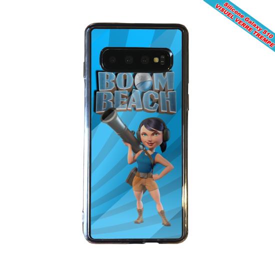 Coque silicone Iphone 12 Fan de Ligue 1 Paris cosmic