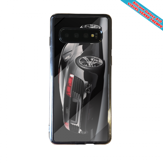 Coque silicone Iphone 12 Fan de Ligue 1 Toulouse cosmic