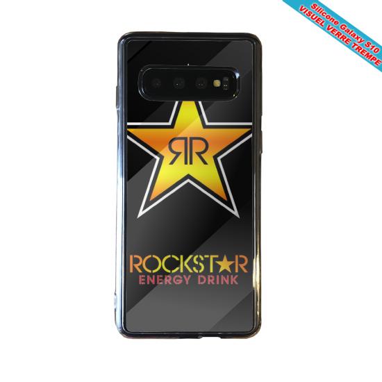 Coque silicone Iphone 12 Fan de Ligue 1 Monaco splatter