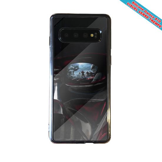 Coque silicone Iphone 12 Fan de Ligue 1 Rennes splatter