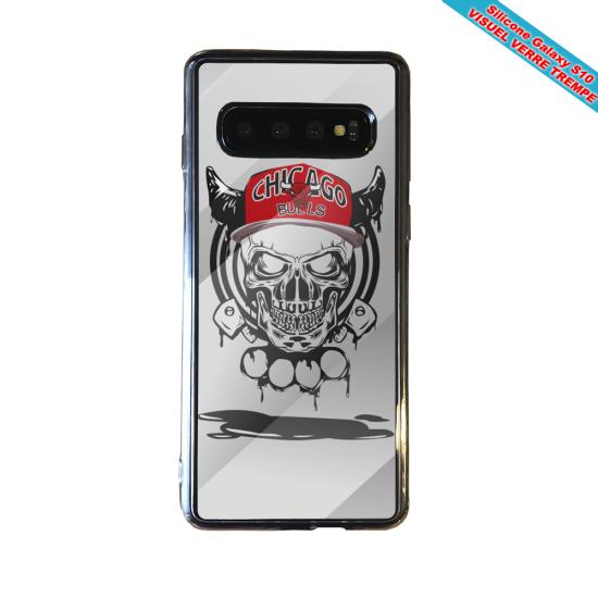 Coque silicone Iphone 12 Fan de Ligue 1 Strasbourg splatter