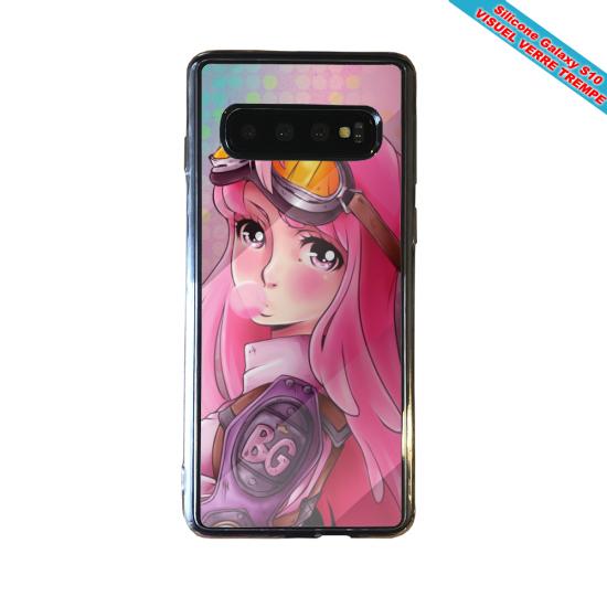 Coque silicone Iphone 12 Fan de Rugby Brive fury