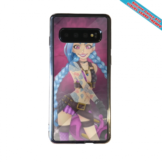 Coque silicone Iphone 12 Fan de Rugby Racing 92 fury