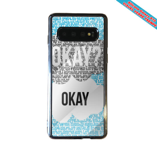Coque silicone Iphone 12 Fan d'Overwatch Ange super hero