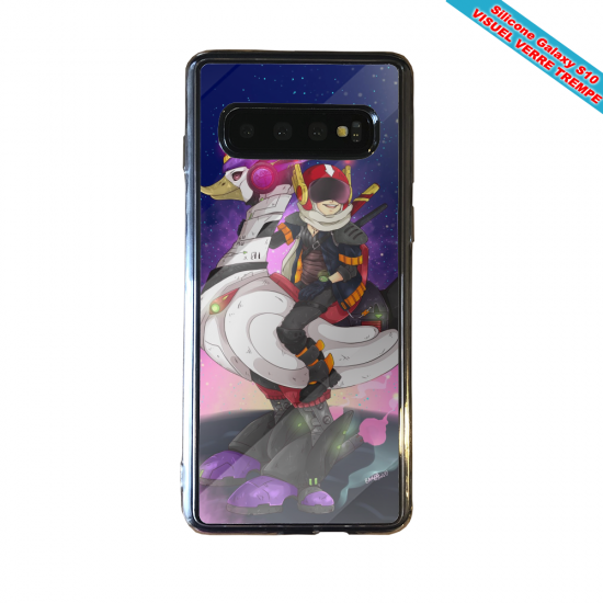 Coque silicone Iphone 12 Fan d'Overwatch Choppeur super hero