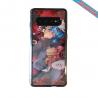 Coque silicone Iphone 12 Fan d'Overwatch D.Va super hero
