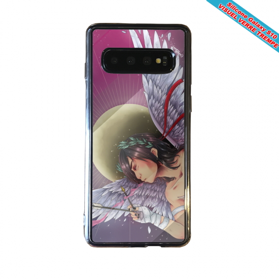 Coque silicone Iphone 12 Fan d'Overwatch Genji super hero