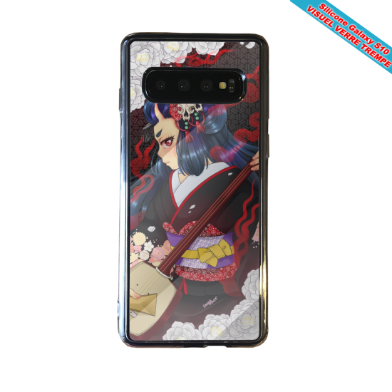 Coque silicone Iphone 12 Fan d'Overwatch Hanzo super hero