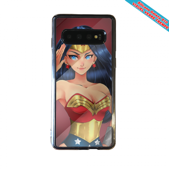Coque silicone Iphone 12 Fan d'Overwatch Mei super hero