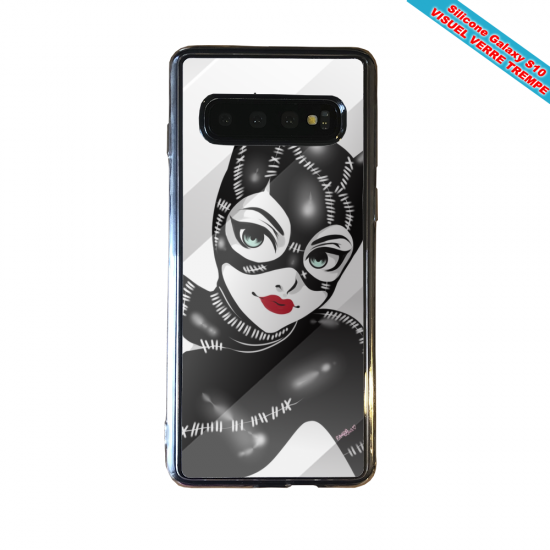 Coque silicone Iphone 12 Fan d'Overwatch Orisa super hero