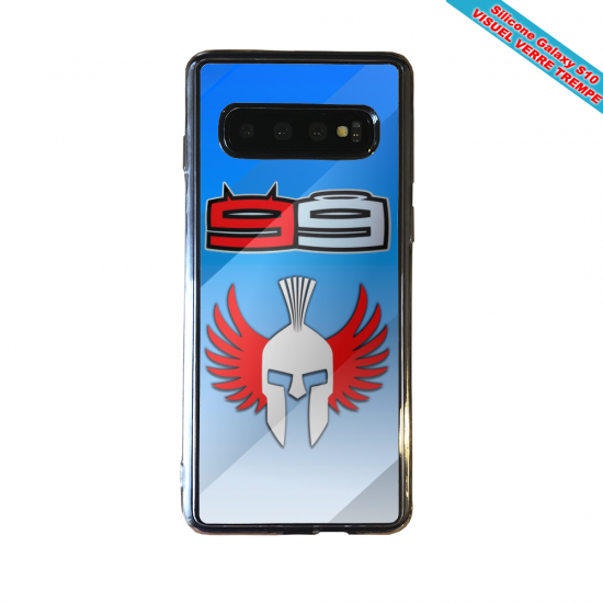 Coque silicone Iphone 12 Fan d'Overwatch Soldat 76 super hero