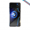 Coque silicone Iphone 12 Flamant rose