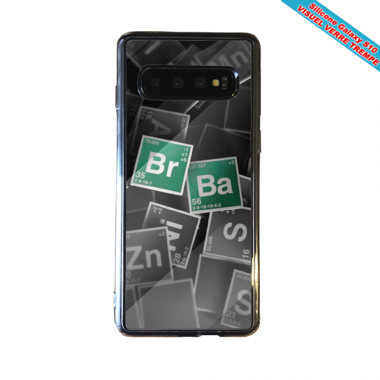Coque silicone Iphone 12 Hibiscus rouge