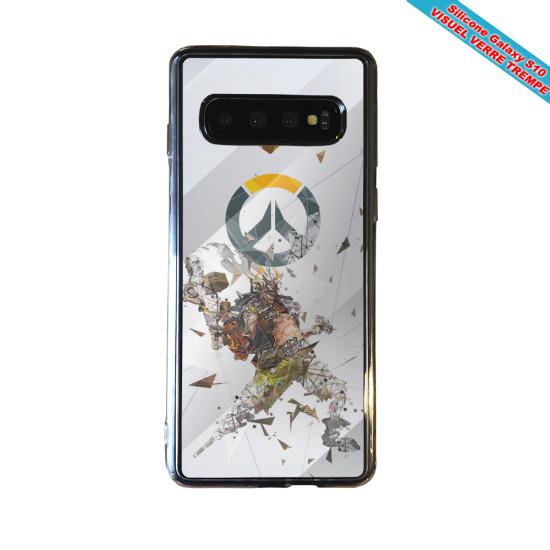 Coque silicone Iphone 12 PRO Fan d'Overwatch Bouldozer super hero