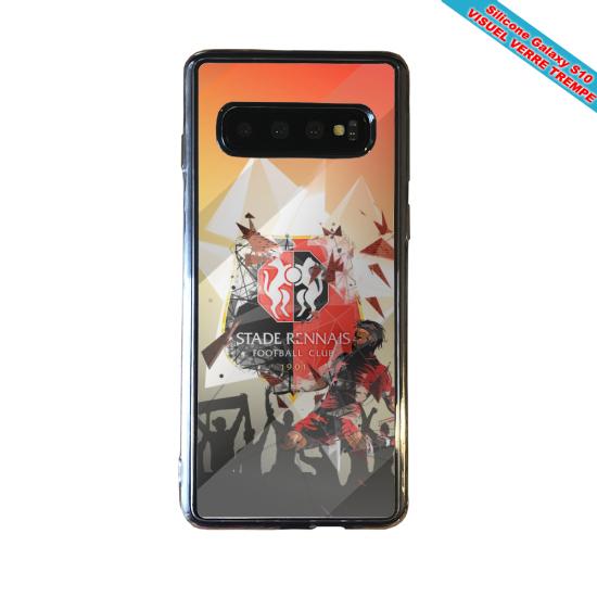 Coque silicone Iphone 12 PRO Hibiscus rouge