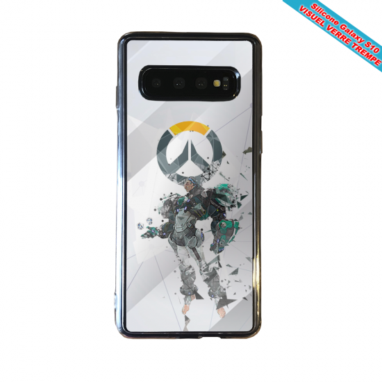 Coque silicone Iphone 12 PRO Fan d'Overwatch Soldat 76 super hero
