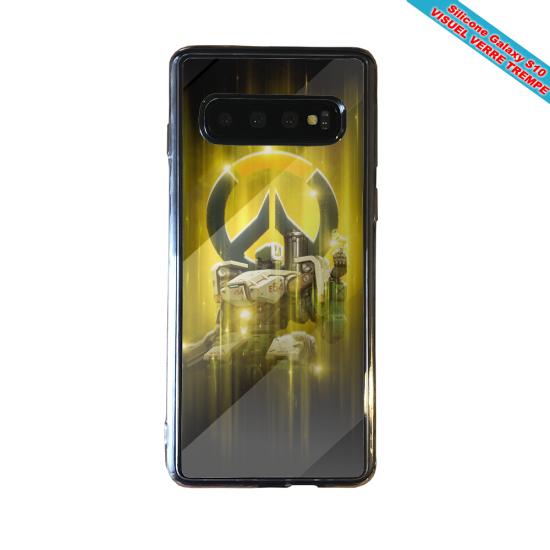 Coque silicone Iphone 12 PRO Fan d'Overwatch Winston super hero