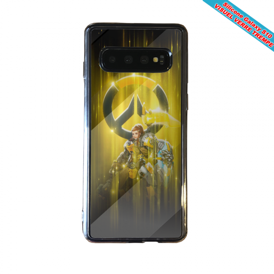 Coque silicone Iphone 12 PRO Fan d'Overwatch Moira super hero
