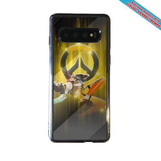 Coque silicone Iphone 12 PRO Fan d'Overwatch Orisa super hero