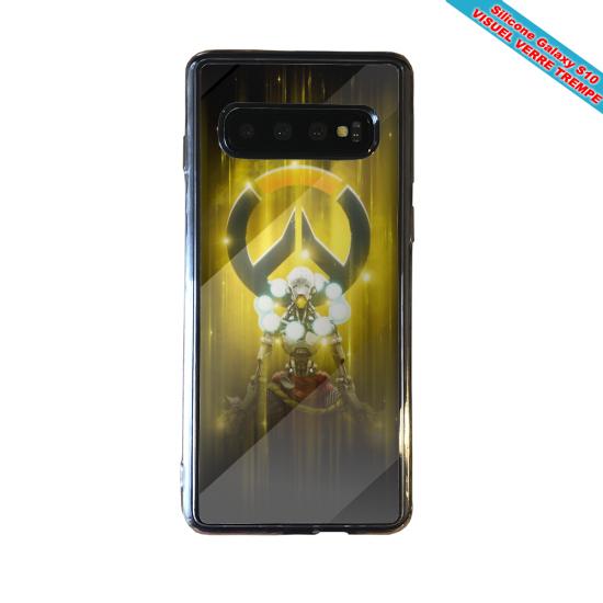 Coque silicone Iphone 12 PRO Fan d'Overwatch Mei super hero