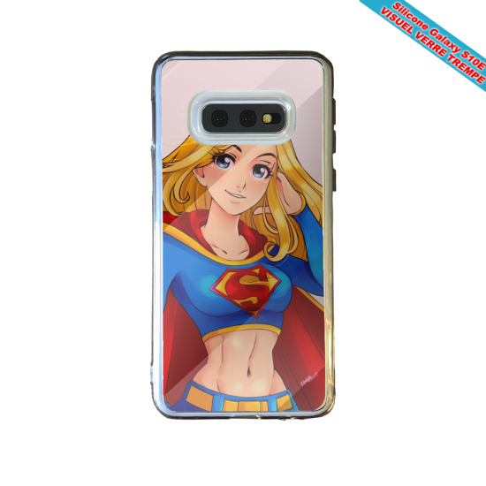 Coque silicone Iphone 12 PRO Fan d'Overwatch Fatale super hero