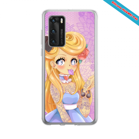 Coque silicone Iphone 12 PRO MAX Fan d'Overwatch Ashe super hero