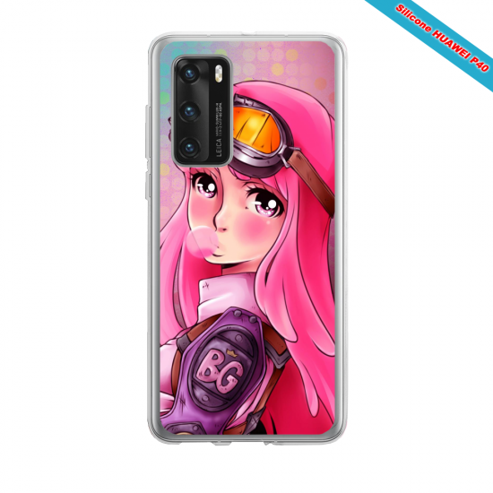 Coque silicone Iphone 12 PRO MAX Fan d'Overwatch Baptiste super hero