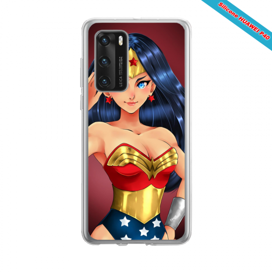 Coque silicone Iphone 12 PRO MAX Fan d'Overwatch Brigitte super hero