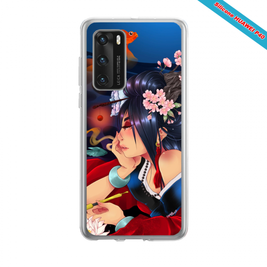Coque silicone Iphone 12 PRO MAX Fan d'Overwatch Chacal super hero
