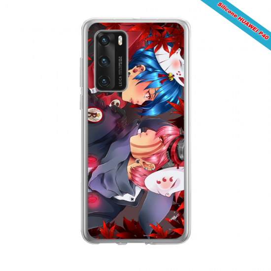 Coque silicone Iphone 12 PRO MAX Fan d'Overwatch D.Va super hero