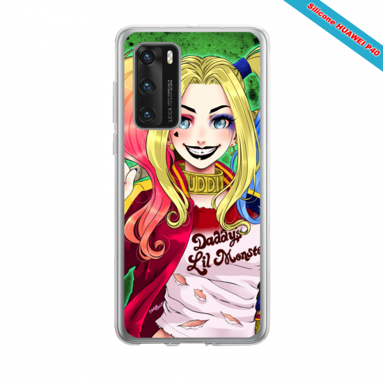 Coque silicone Iphone 12 PRO MAX Fan d'Overwatch Fatale super hero