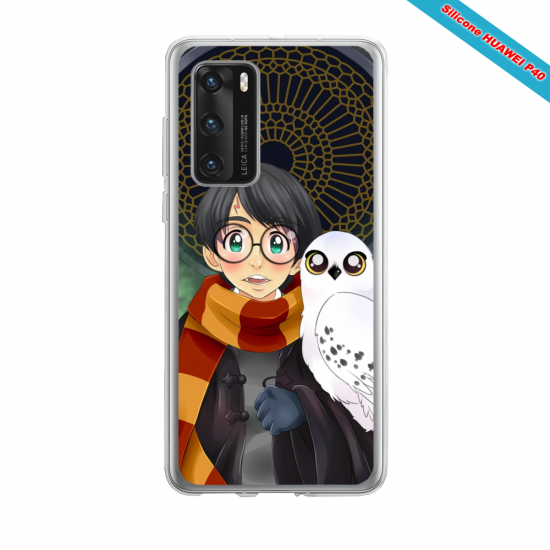 Coque silicone Iphone 12 PRO MAX Fan d'Overwatch Faucheur super hero