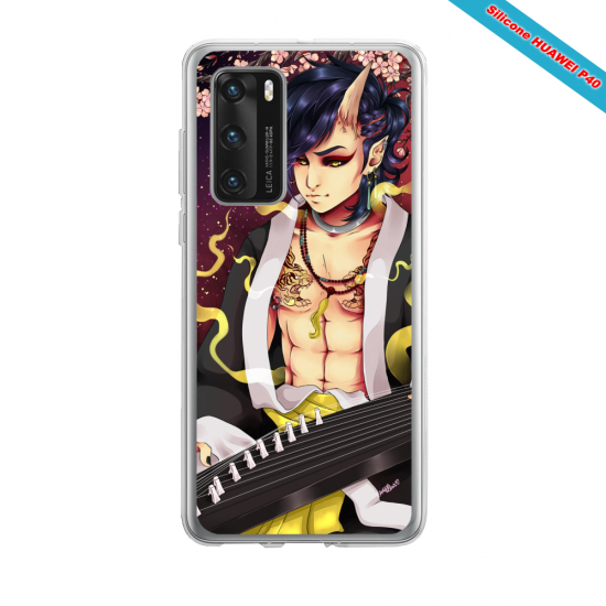 Coque silicone Iphone 12 PRO MAX Fan d'Overwatch Lúcio super hero