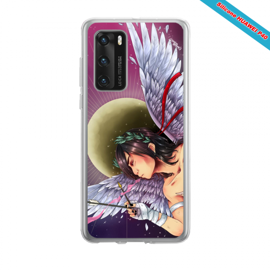 Coque silicone Iphone 12 PRO MAX Fan d'Overwatch Mei super hero