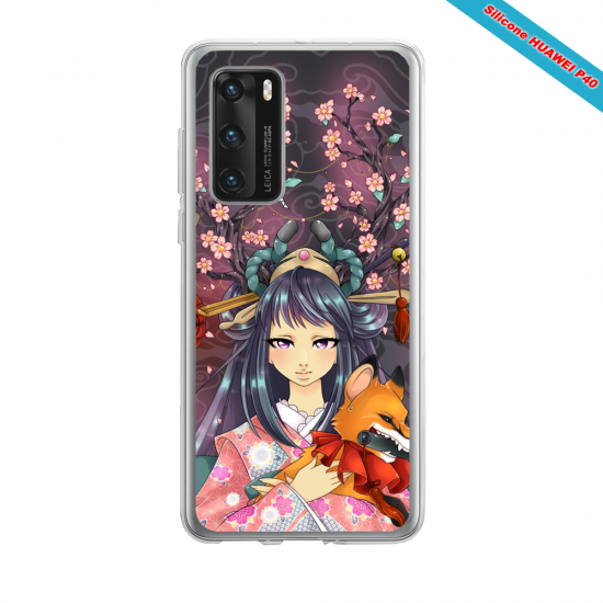 Coque silicone Iphone 12 PRO MAX Fan d'Overwatch Moira super hero
