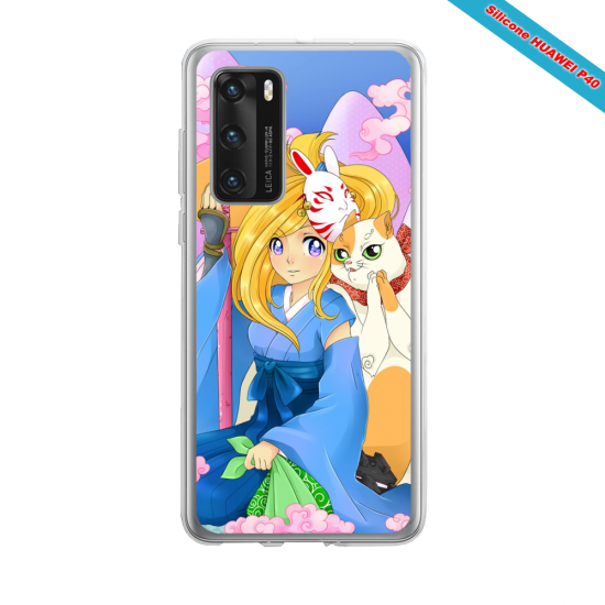 Coque silicone Iphone 12 PRO MAX Fan d'Overwatch Orisa super hero