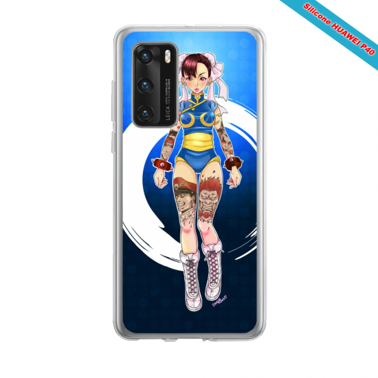 Coque silicone Iphone 12 PRO MAX Fan d'Overwatch Pharah super hero