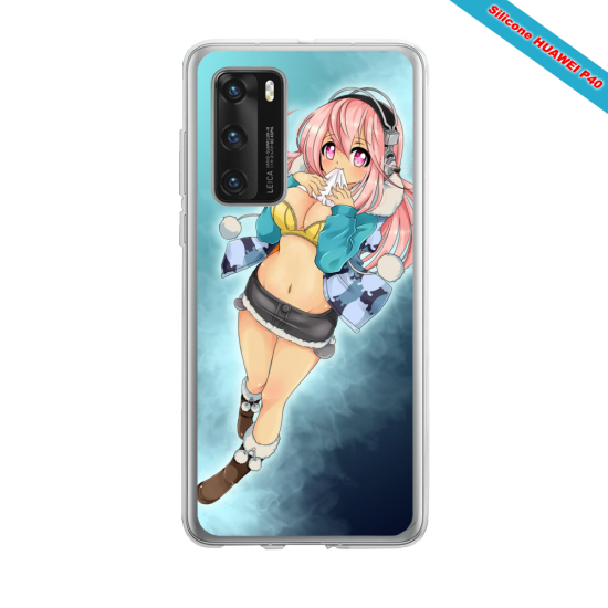 Coque silicone Iphone 12 PRO MAX Fan d'Overwatch Sigma super hero