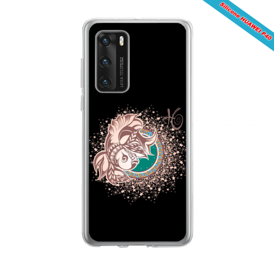 Coque silicone Iphone 12 PRO MAX Flamant rose