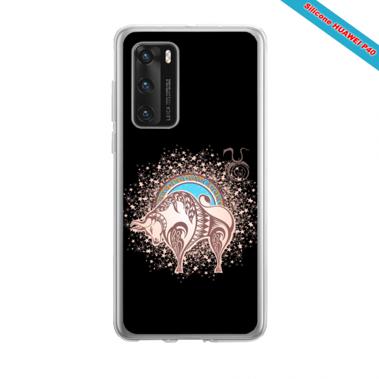 Coque silicone Iphone 12 PRO MAX Hibiscus rouge