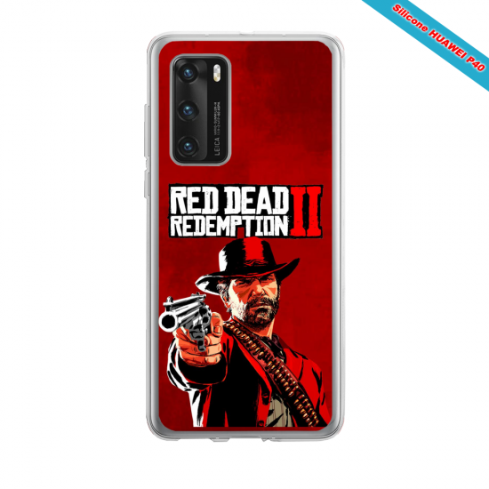 Coque silicone Huawei MATE 10 LITE Fan d'Overwatch McCree super hero