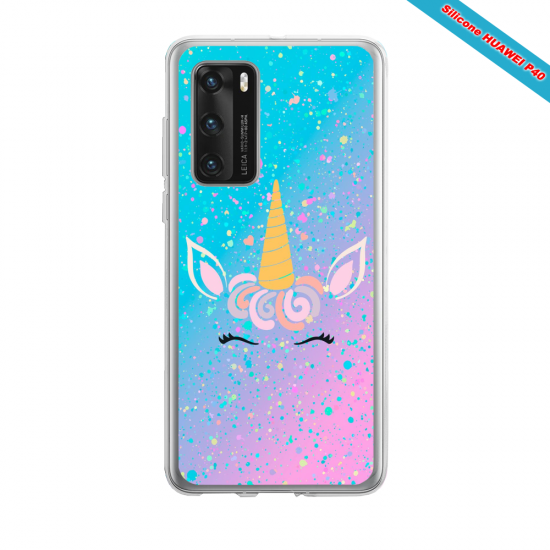Coque silicone Huawei MATE 10 LITE Fan d'Overwatch Sigma super hero