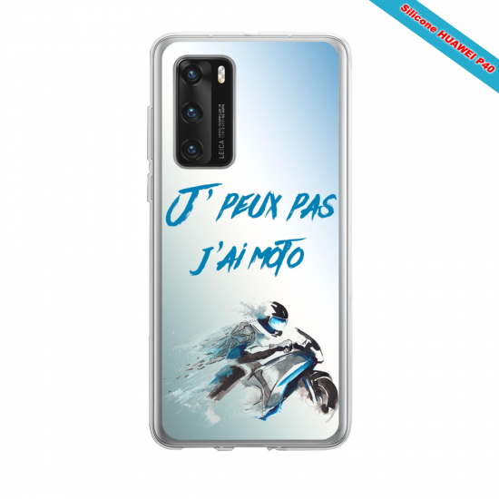 Coque silicone Huawei MATE 10 LITE Fan d'Overwatch Winston super hero