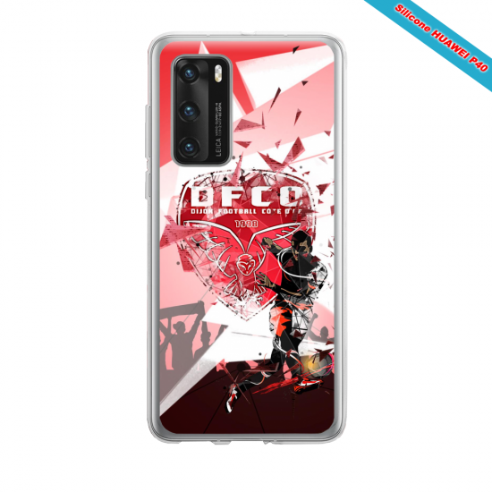 Coque silicone Huawei MATE 10 LITE Fan d'Overwatch Soldat 76 super hero