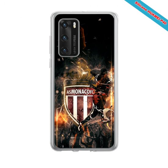 Coque silicone Huawei MATE 10 LITE Fan d'Overwatch Tracer super hero