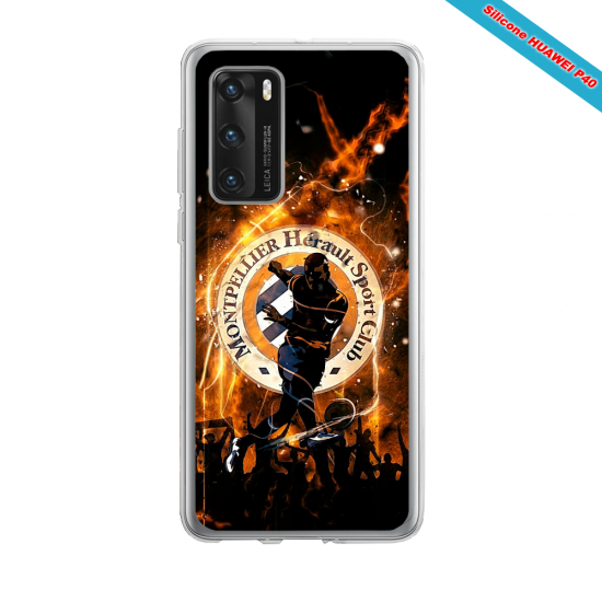 Coque silicone Huawei MATE 10 LITE Fan d'Overwatch Reinhardt super hero