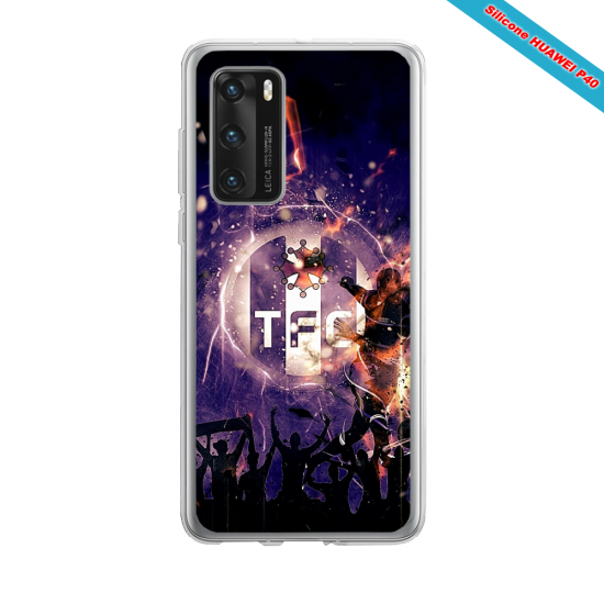 Coque silicone Huawei MATE 10 LITE Fan d'Overwatch Pharah super hero