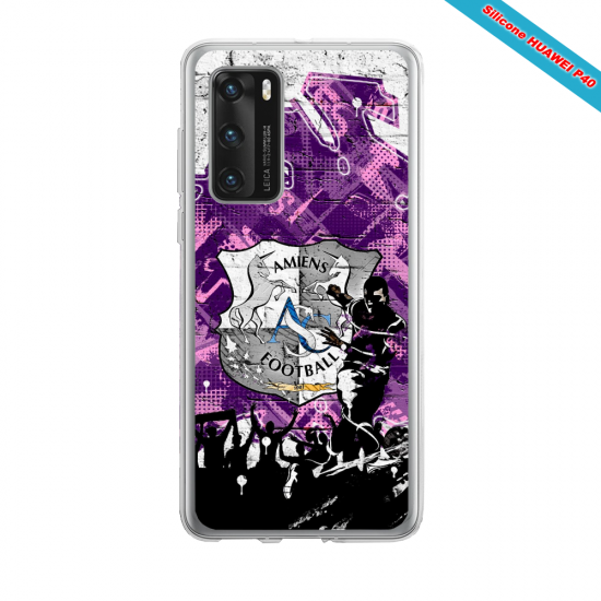 Coque silicone Huawei MATE 10 LITE Fan d'Overwatch Torbjörn super hero